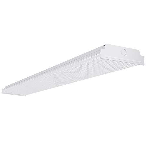 AntLux 4ft LED Garage Shop Lights, LED Wraparound Light...