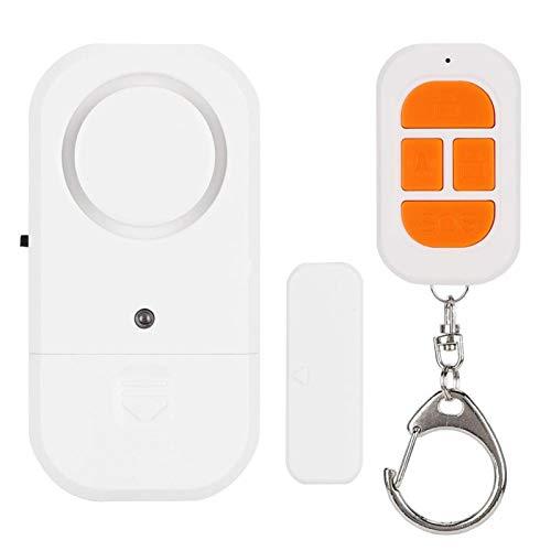 Puerta Ventana Alarma Alarma antirrobo Sistema de seguridad Llave SOS con control remoto 125 DB, para seguridad