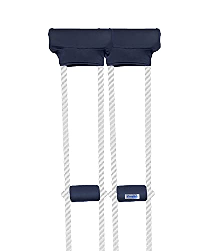 Crutch Pads and Hand Grip Covers Crutcheze USA Made with Soft Foam Padding - Accessories for Crutches