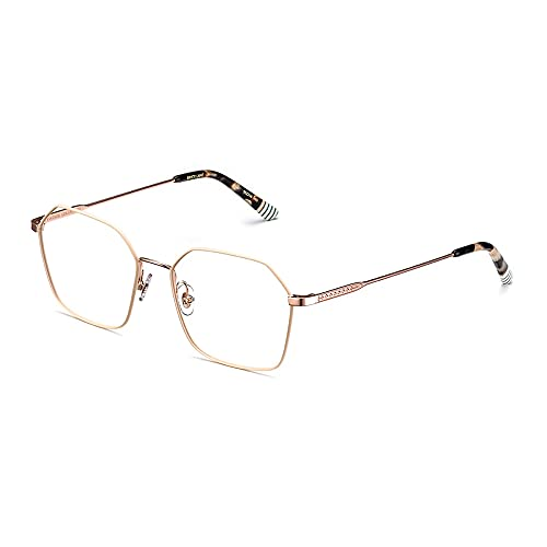 Etnia Barcelona Brille (BRICK LANE WHHV) Metall vintage weiß - gold-kupfer