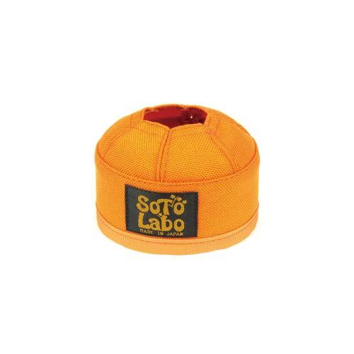 (ソトラボ)SotoLabo ガスカートリッジカバーGas cartridge wear/OD 110 (オレンジ)