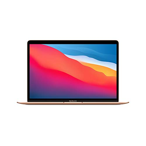 Novo Apple MacBook Air (de 13polegadas, Processador M1 da Apple com CPU 8‑Core eGPU8‑Core, 8 GB RAM, 512GB SSD) - Dourado