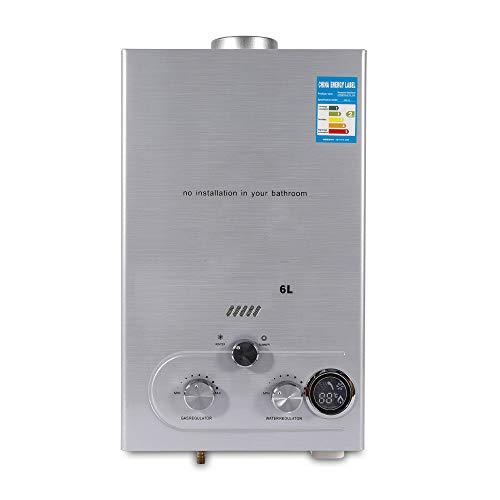 6L wandmontage boiler boiler industriële waterboiler aardgas warmwaterboiler gas 12KW voor keuken badkamer