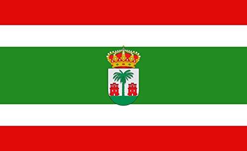 magFlags Bandera Large Villanueva de los Castillejos | Villanueva de los Castillejos Huelva | Bandera Paisaje | 1.35m² | 90x150cm