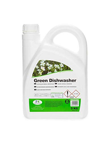 Proeco Químicas Lavavajillas Manual Concentrado Certificado Ecolabel Green Dishwasher Bidón 5Kg. 5000 g