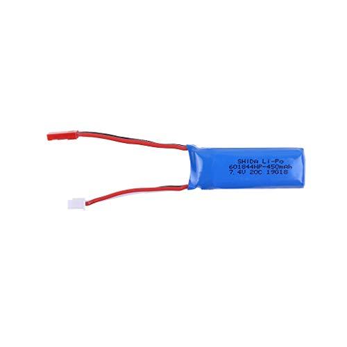 TwoCC Rc Batterie,7,4 V 450 Mah Batterie Teil für Wltoys P929 / P939 / K979 / K989 / K999 / K969 Rc Auto