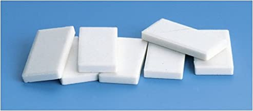 White Streak Plates - set of 10