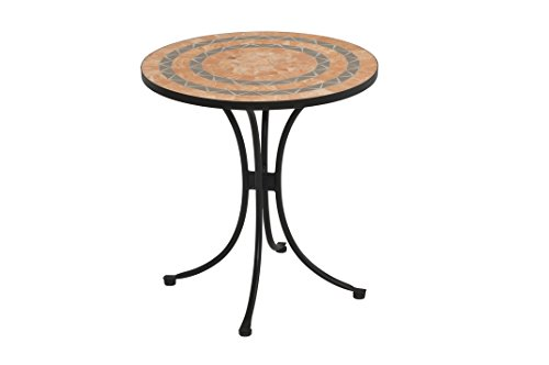 Discover Bargain Bistro Terra Cotta Tile Top Dining Table by Home Styles