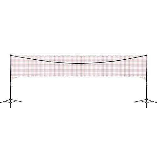 Ljings Red De Badminton para Torneo Internacional,Red De Badminton Trenzada De Estandar De Entrenamiento Profesional,Starter Net, (Tres Tamaños),4.1m