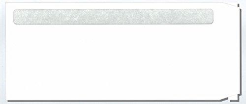 エコエコ給与明細書封筒 WS 透けない白 エコ窓 テープ付 200枚