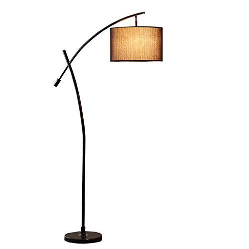 Lámpara De Pie Creativa Pesca Protección de los ojos lámpara de pie nórdica simple plug-in interruptor de pie ajustable de metal vertical estándar de la lámpara for la sala 68.5 '' Luz De Piso