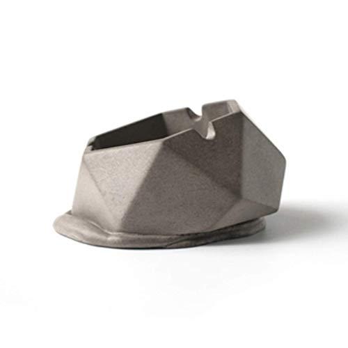 JIAJBG Cenicero de cigarrillos con tapa, resistente al viento para uso en...