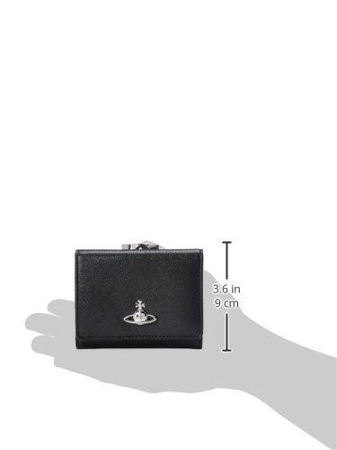 [ヴィヴィアンウエストウッド]がま口財布VICTORIA51010018BLACK[並行輸入品]