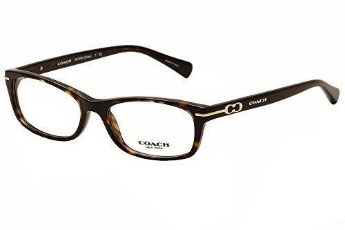Coach HC6054 Women's Eyeglasses Dark Tortoise 52
