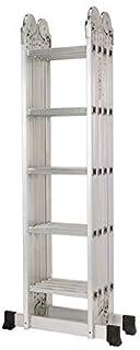 MZH Multipurpose Ladder 4x5 6 meters silver