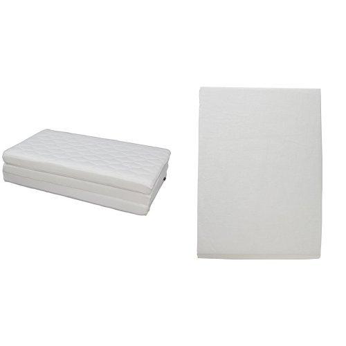 【セット買い】アイリスオーヤマ エアリーマットレス ハイグレード 厚み9cm セミダブル ホワイト HG90-SD + ボックスシーツ 日本製 綿100% ブロード生地 通気性 セミダブル ミルキーホワイト
