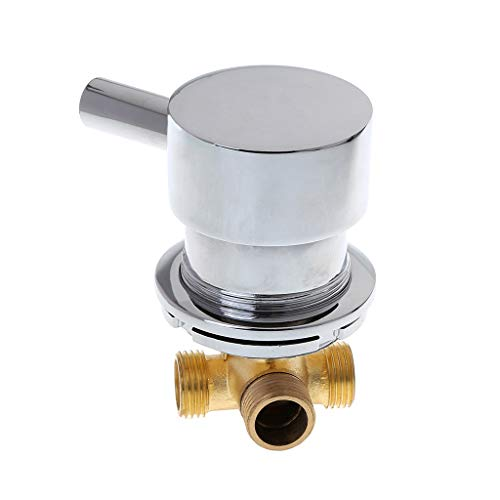 Mezclador termostático de la válvula de mezcla de agua caliente y fría...