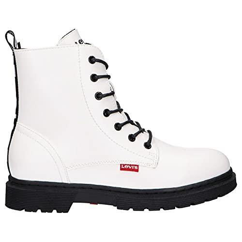 Levi's Botas Vphi0021s Clover 0061 White 39 para Mujer y Niña y Niño