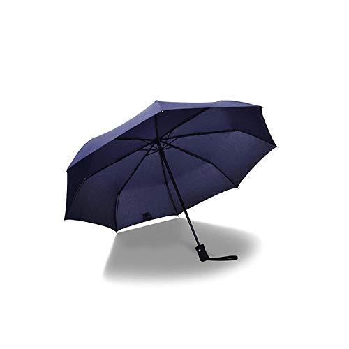 flqwe Ultra Light Anti-UV Paraplu, Volledig automatische paraplu. Opvouwbare grote dubbele drievoudige winddichte paraplu, stevige waterdichte versterkte paraplu