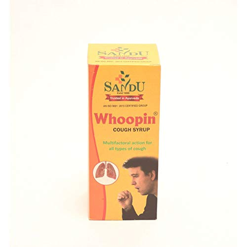 Sandu Pharmaceuticals Ltd | Whoopin Syrup ®(200Mls) | Ayurvedic Cough Syrup For Both Dry & Wet Cough