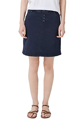 s.Oliver Damen 14.904.79.2902 Rock, Blau (Navy Denim Stretch 59z4), (Herstellergröße: 40)