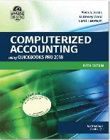 Computerized Accounting using Quickbooks Pro 2018