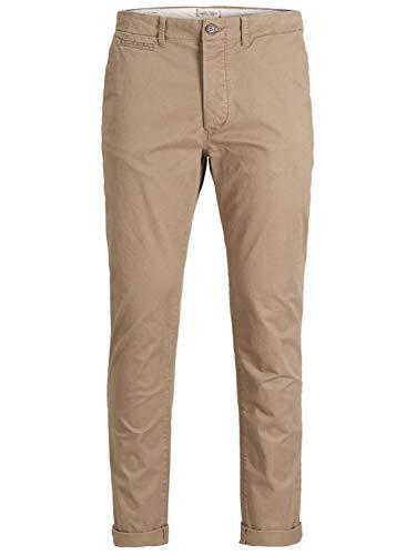 Jack & Jones Jjimarco Jjenzo WW 420 Noos Pantalones, Marrón (Tan), W38/L34 (Talla del Fabricante: 38) para Hombre