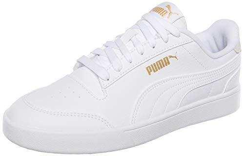 Puma Unisex Shuffle Sneaker, Weiß Weiß Team Gold, 43 EU