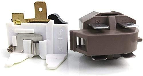 4387913 refrigerator/freezer overload relay kit for Whirlpool, Frigidaire, GE, KitchenAid, LG, Magic Chef. 4387913 7020935 4387766 4387836 4241370