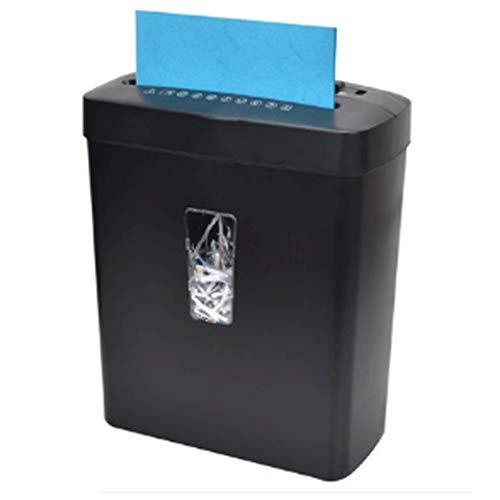 ZHGYD Portátil de Alta Potencia Comercial Potente trituradora de Papel Home Office Shredder Artefacto, CD