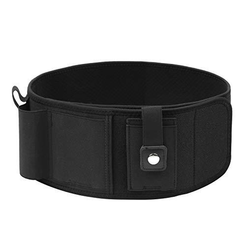 Decdeal Gun Holster, Concealed Carry Holster for Men&Women, Breathable Elastic Neoprene Waistband Holster for Pistols, Revolver, Phones, Cards, Suitable for Sports, Easy to Move
