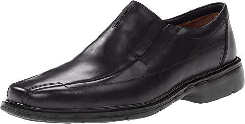 Clarks Unstructured Men's Un.Sheridan Dress Casual Slip On,Black,9.5 M US