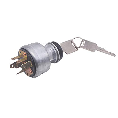 Ignition Switch 4 Positions 7 Pins Replacement 31-280 for Tractors
