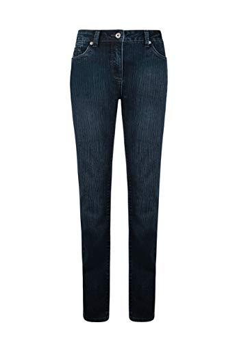 Million X Damen Jeans Rita Wave W40 L32, Dark Blue