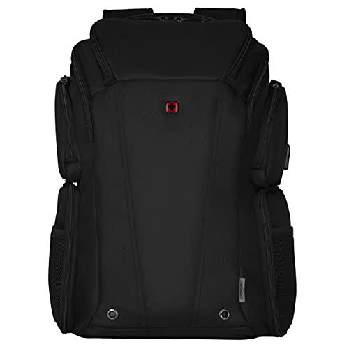 WENGER, BC Class, zaino per laptop da 14  a 16 , con tasca per tablet, nero (R )