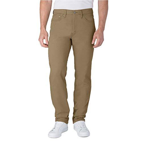 Signature by Levi Strauss & Co. Gold Label Men's Athletic Tech Jeans, British Khaki, 30W x 32L