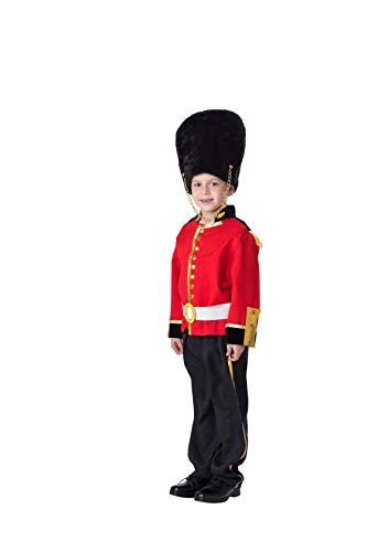 Dress Up America Disfraz de Guardia Real Deluxe: Talla XL 16-18 aos