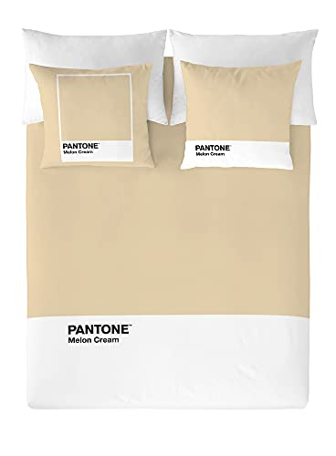 NATURALS Pantone Funda nórdica Melon Cream Cama 150