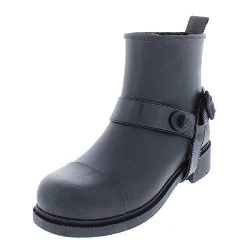 COACH Moto Rain Black 5