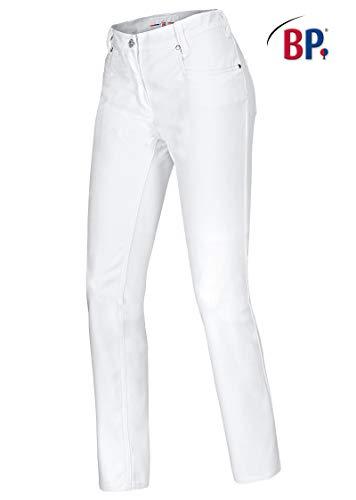 BP 1732-687-21 Jeans für Frauen Stretch-Stoff 300,00 g/m² Stoffmischung mit Stretch, weiß, 32/32