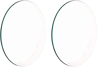 United Scientific LCV108 Glass Double Convex Lens, 100mm Diameter, 200mm Focal Length