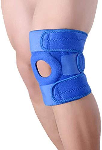 ZYQ Compresion Antideslizante de Gel de silice Compatibilidad con la Rodilla, la Mejor Rodillera para el menisco Desgarro Artritis Deportes Recuperacion rapida Un par