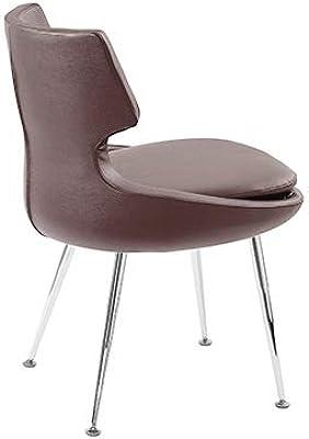Amazon.com: Cherner inspired Side silla patas de metal: Home ...