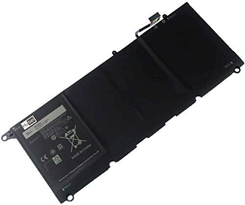 JD25G 0N7T6 0DRRP RWT1R Laptop Battery For Dell XPS 13-9343 13-9350 P54G001 P54G002 Touchscreen InfinityEdge Ultrabook XPS 13D-9343-1808T 1508 1608T 13-9350-D1508 D1608T 5K9CP JHXPY (7.4V 52Wh)