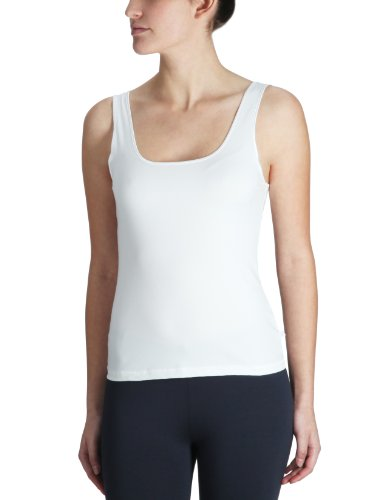 Triumph Damen Unterhemd Be Pure Shirt 02, Weiß (White), Gr. 46