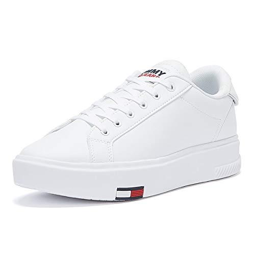 Tommy Hilfiger Damen Flatform Sneaker Weiß 41