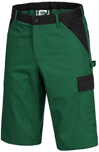 ACE Handyman Gärtner-Arbeitshosen - Stretch-Shorts für die Arbeit - Grün - 46