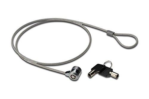 Ednet Notebook Security Lock - Chiusura di sicurezza per notebook, con 2 chiavi