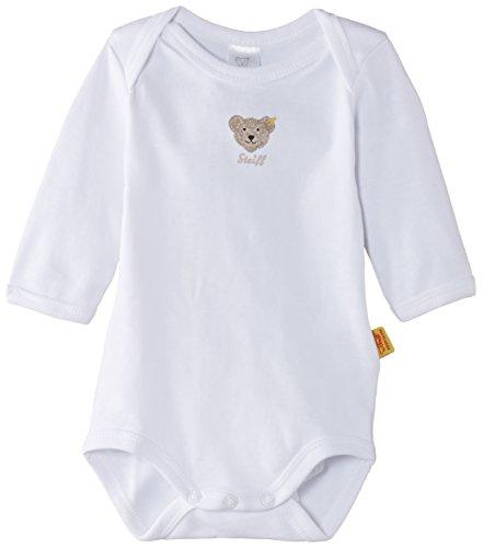 Steiff - Body - Mixte Bébé - Blanc (Bright White )) - 2-3 ans (92 cm)