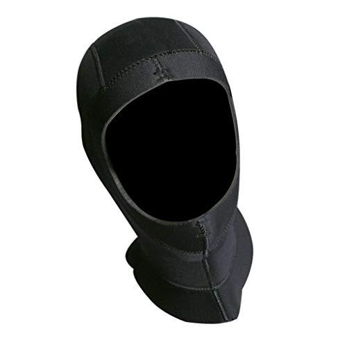 CUTICATE Neopren Kopfhaube Neoprenhaube Taucher Haube 5mm - XXL